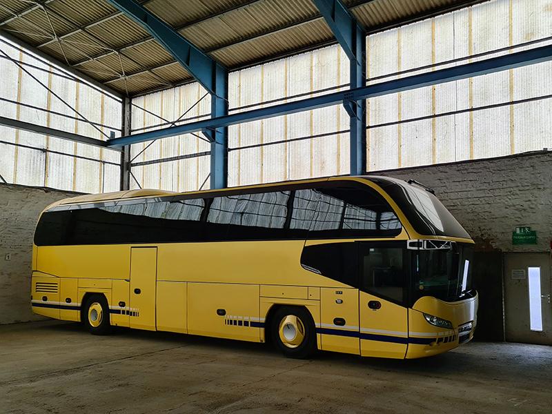 In der Westside Garage Göttingen ist Ihr Bus oder Großfahrzeug optimal gegen Wind, Nässe, Frost und Streusalz geschützt.