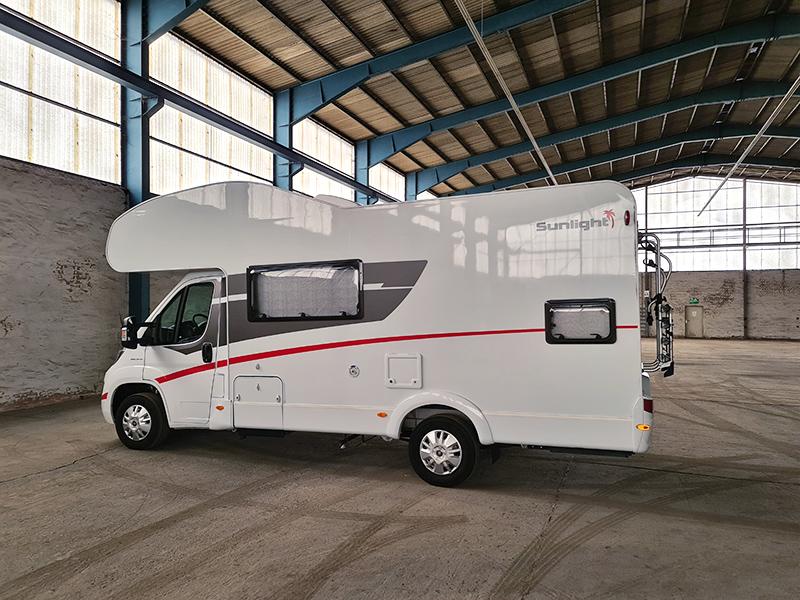 In der Westside Garage Göttingen ist Ihr Reisemobil oder Wohnwagen optimal gegen Wind, Nässe, Frost und Streusalz geschützt.